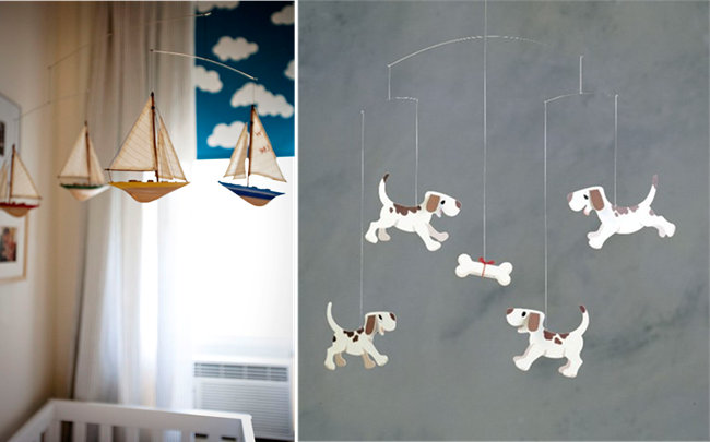 Nautical Mobiles Also Seem Like A Good Fit And I Love The One Pictured Above From Cup Of Jo Or Perhaps Some Friendly Puppies